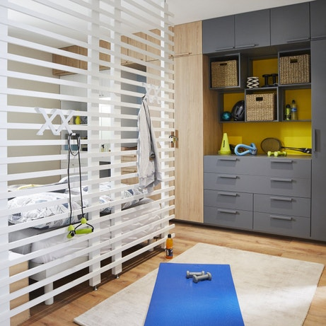 Organiser la chambre en différents espaces