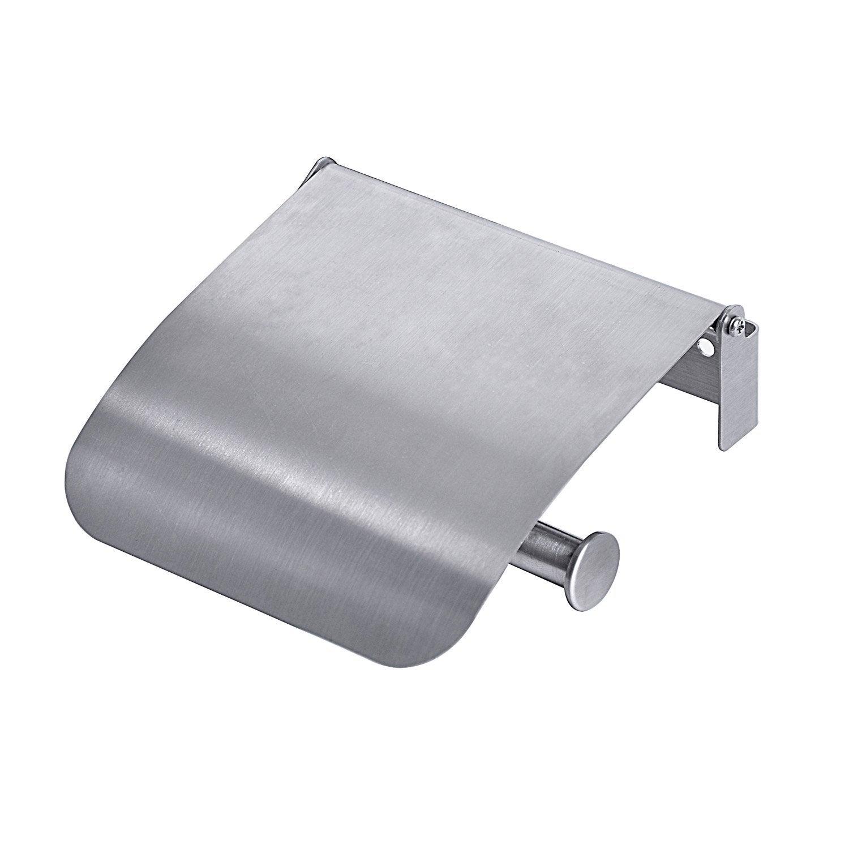 Dérouleur Papier Wc Metal dérouleur papier toilette métal avec couvercle loft