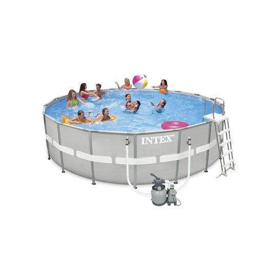 piscine hors sol piscine bois gonflable tubulaire On piscine hors sol tubulaire intex ultra frame