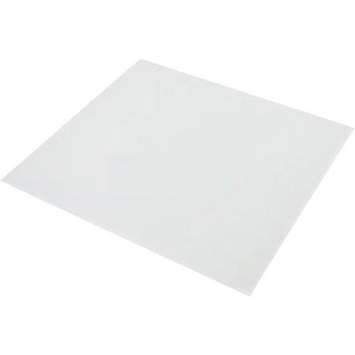 Fond De Hotte Verre Trempé Blanc Mat Délice H 60 Cm X Ep 5 Mm X L 0 5 Cm