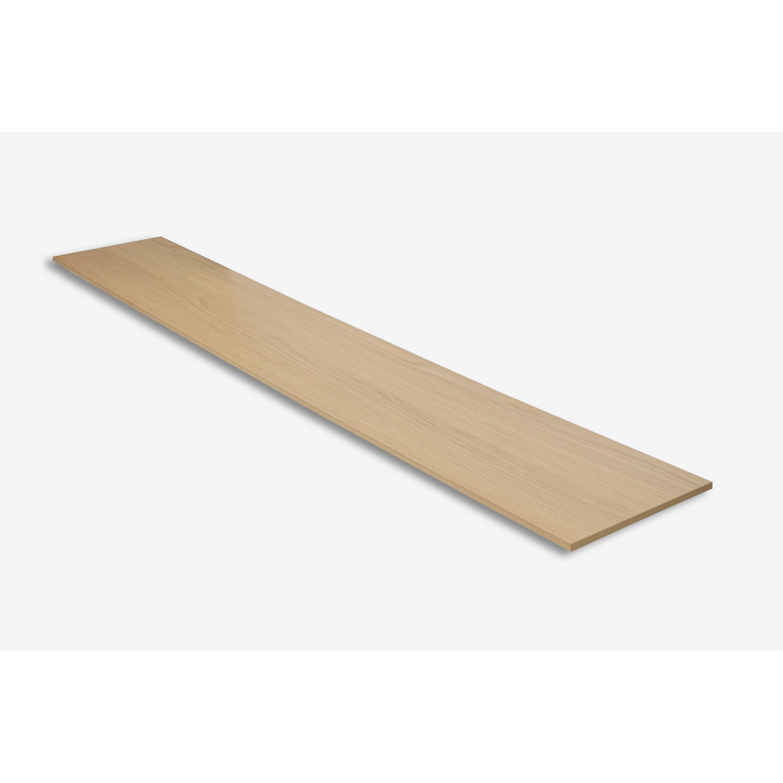 Ajouter Des Contre Marche Escalier contremarche pour rénovation escalier chêne clair, l.130 x l.20 cm