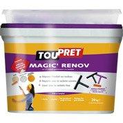 Enduit de lissage pâte Magic rénov TOUPRET, 20 kg