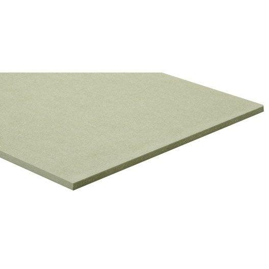 panneau mdf m dium ordinaire hydrofuge l250 x l122 epais 15mm leroy merlin. Black Bedroom Furniture Sets. Home Design Ideas