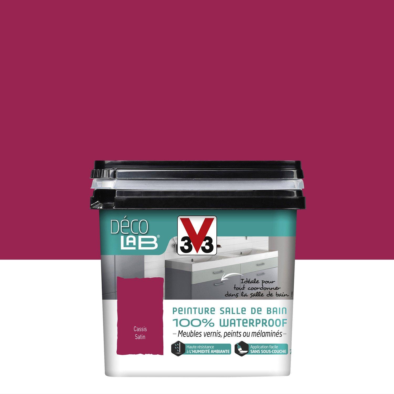 peinture d colab 100 waterproof v33 cassis l. Black Bedroom Furniture Sets. Home Design Ideas