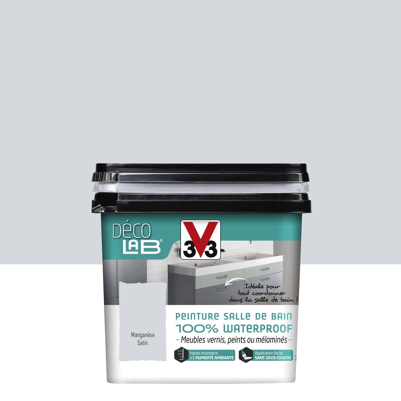 Dimension Salle De Bain Publique ~ peinture d colab 100 waterproof mangan se satin v33 0 75 l