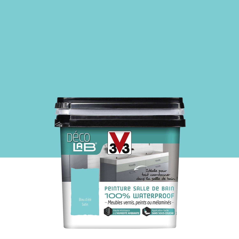 Peinture Décolab 100% Waterproof V33, Bleu Du0027été, ...