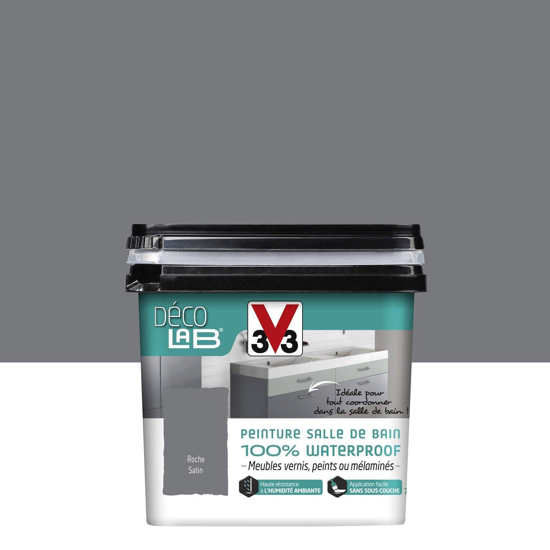 Peinture Décolab 100% Waterproof V33, Roche, 0.75 L