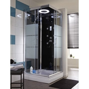 cabine de douche douche leroy merlin. Black Bedroom Furniture Sets. Home Design Ideas