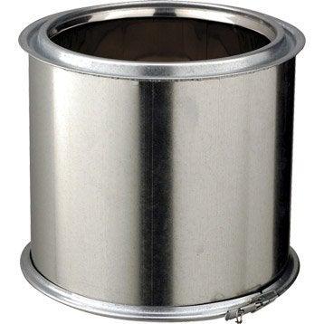 Tuyau pour conduit double paroi POUJOULAT, D150 mm 0.25 m Ep.25 mm