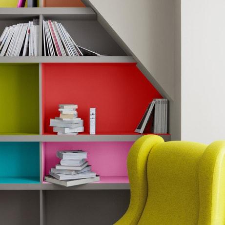 Des id es de meubles peints leroy merlin for Image pour arriere plan de bureau