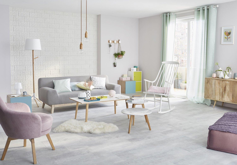 un intrieur pastel des murs aux meubles