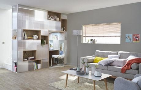 des id es pour votre coin bureau leroy merlin. Black Bedroom Furniture Sets. Home Design Ideas