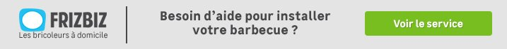 Frizbiz - barbecue fixe