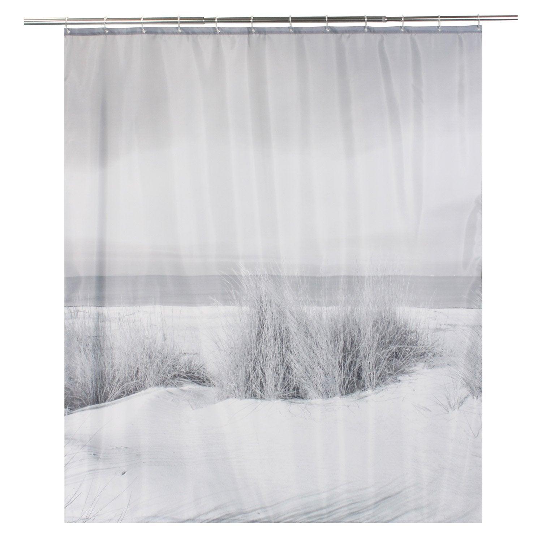 Rideau de douche en textile multicolore l.180 x H.200 cm, Nayat SENSEA