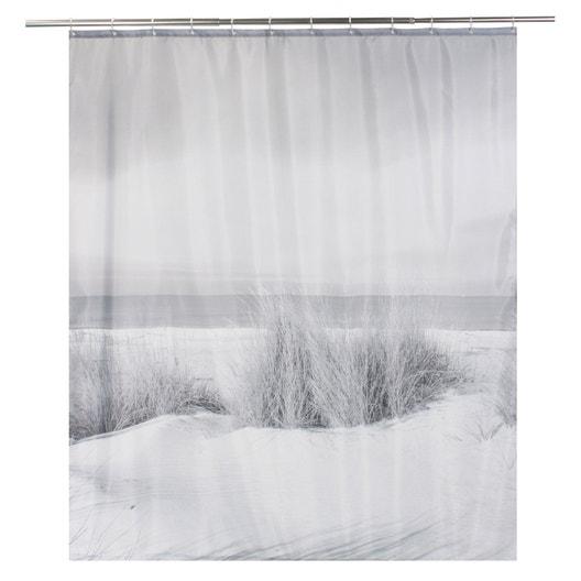 rideau de douche en textile multicolore x cm nayat sensea leroy merlin. Black Bedroom Furniture Sets. Home Design Ideas