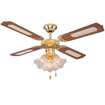 Ventilateur de plafond lustre suspension et plafonnier leroy merlin - Leroy merlin ventilateur ...