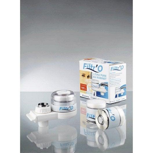 Filtre sur robinet filtr 39 o leroy merlin for Filtre a eau sur robinet