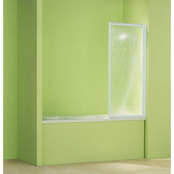 pare baignoire 1 volet blueaqua g01 acrylique granit. Black Bedroom Furniture Sets. Home Design Ideas
