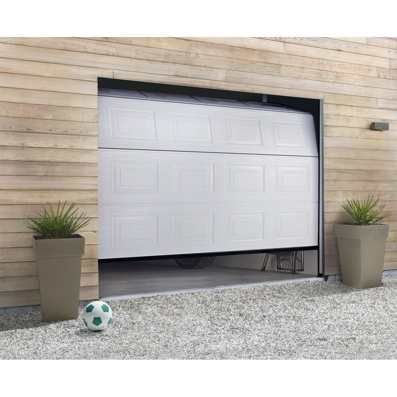 Porte De Garage Sectionnelle Motorisée HORMANN H X L Cm - Porte de garage sectionnelle avec reglage porte pvc