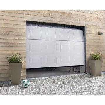 Porte de garage sectionnelle HORMANN H.200 x l.240 cm