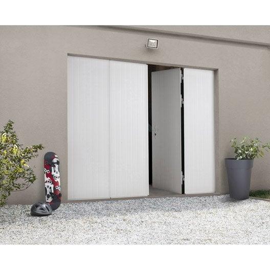 porte de garage la fran aise sans hublot artens x cm leroy merlin. Black Bedroom Furniture Sets. Home Design Ideas