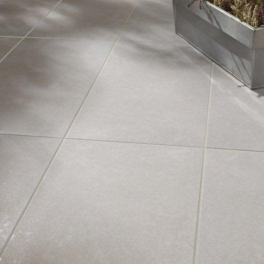 Carrelage sol gris nuage effet b ton jet x cm for Carrelage gris beton