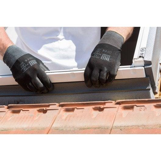 raccord pour fen tre de toit velux ew uk04 6000 gris. Black Bedroom Furniture Sets. Home Design Ideas