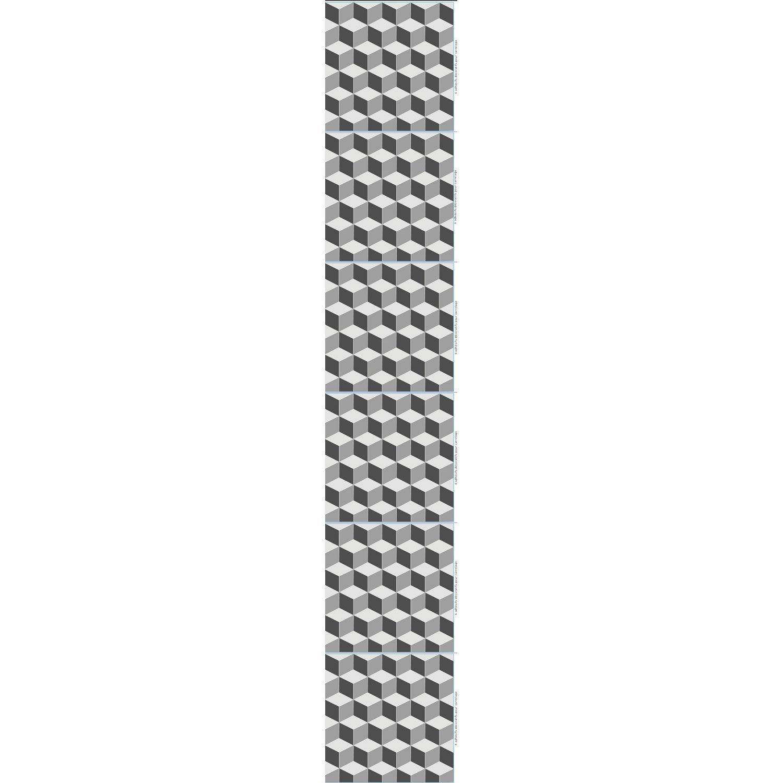 Stickers Adhesifs Carrelage Mural Geometrique 3d 15 Cm X 15 Cm