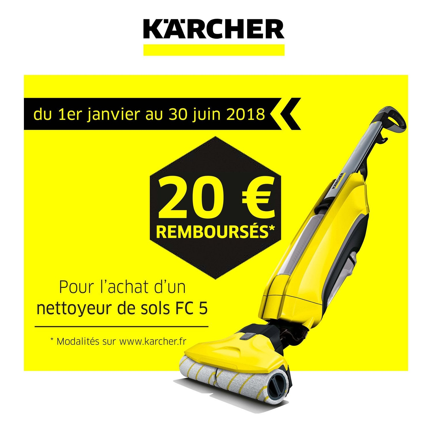 nettoyeur pour sols karcher fc5 460 w leroy merlin. Black Bedroom Furniture Sets. Home Design Ideas