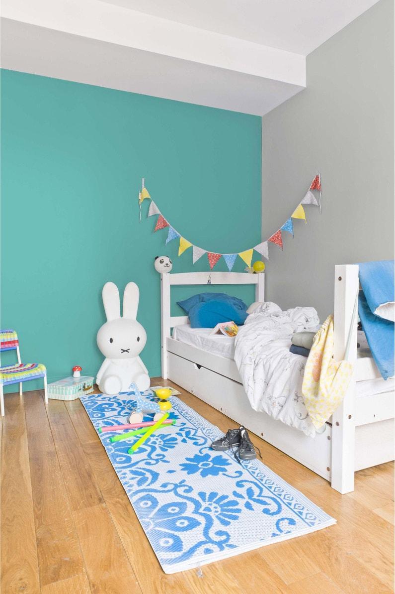 Idee Peinture Chambre Garcon 10 Ans peinture bleu turquoise satin ripolin chambre enfants 0.5 l