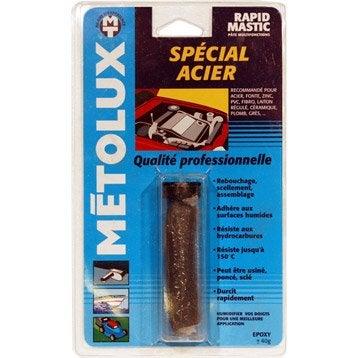 Soudure à froid spécial acier METOLUX Rapidmastic s
