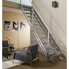 Rambarde d 39 escalier garde corps protection palier escalier leroy merlin - Rampe d escalier exterieur leroy merlin ...