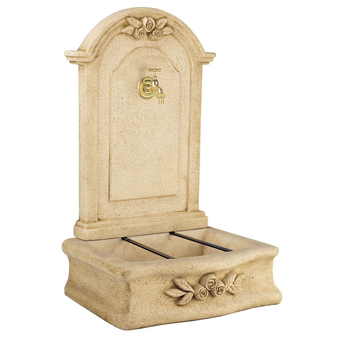 Fontaine De Jardin En Pierre Reconstituee Ton Pierre Beausoleil