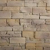 Plaquette de parement Borgo en béton, blond doré
