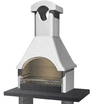 Barbecue Ginevra, L 64 x P 114xH 210 cm