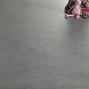Sol PVC gris galet 3, ARTENS Reflex l.4 m