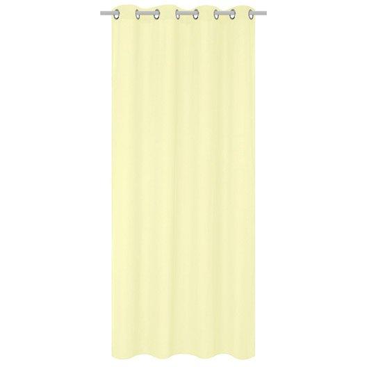 Voilage flavina blanc ivoire n 2 x cm inspire leroy merlin - Blanc comme l ivoire ...