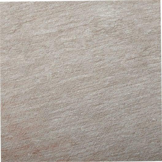 Carrelage gris effet b ton pierre x cm for Carrelage exterieur 40x40