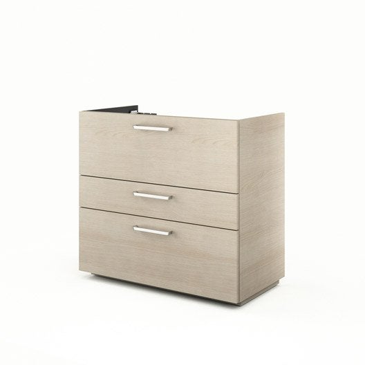 meuble sous vasque x x cm neo line leroy merlin. Black Bedroom Furniture Sets. Home Design Ideas