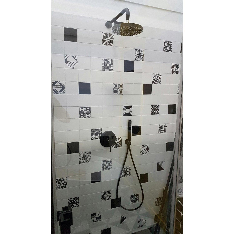 Robinet de douche encastré, Mohana noir