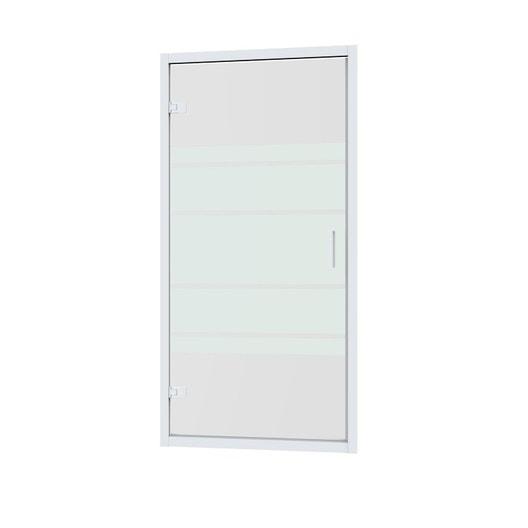 Porte de douche pivotante 90 cm s rigraphi charm leroy merlin - Porte de douche 90 ...