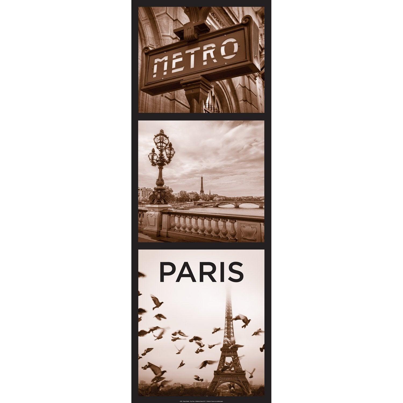 Affiche Paris City l.33 x H.95 cm