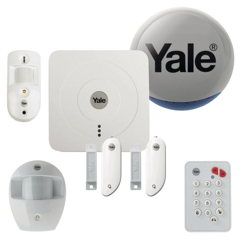 Alarme Maison Sans Fil Yale Connectée Pack Dissuasion Sr 3200i