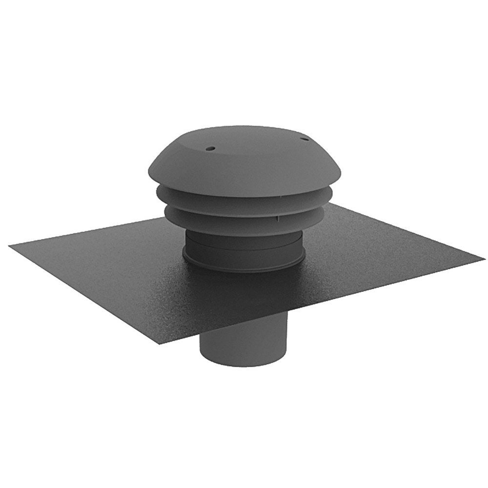 Chapeau De Toiture Ardoise Pvc Equation Diam160150 Mm