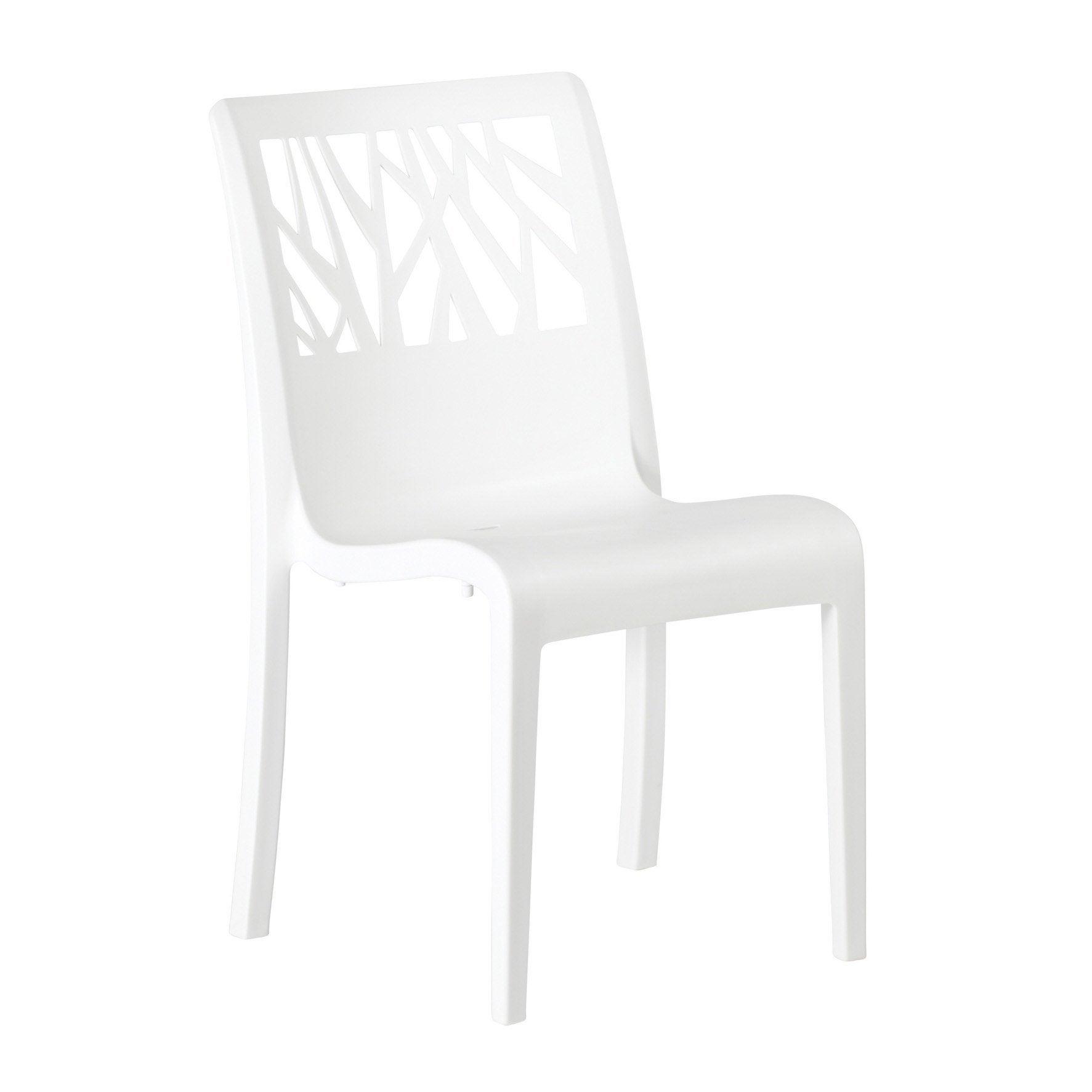 chaise terrasse design plastique leroy merlin