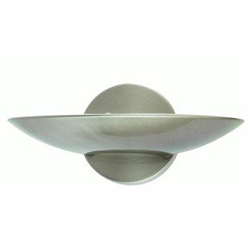 Applique Lume, 1 x 75 W, métal chromé, INSPIRE