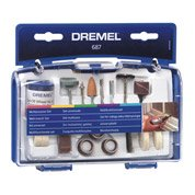 Kit de 52 accessoires pour travaux généraux, DREMEL
