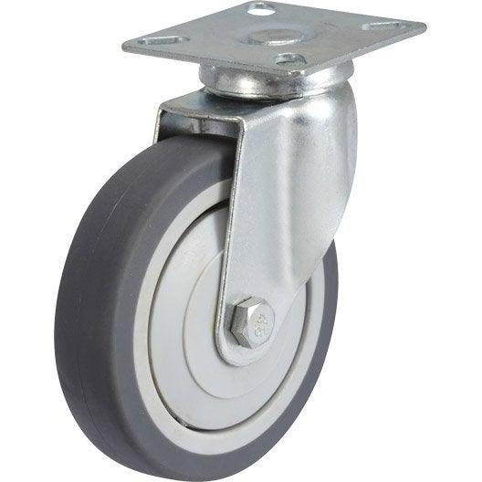 Pied de meuble roue et roulette pied de table leroy - Roue leroy merlin ...