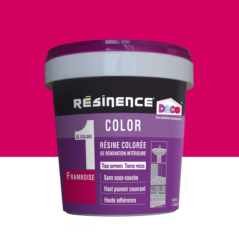R Sine Color E Color Resinence Violet Framboise 0 25 L Leroy Merlin