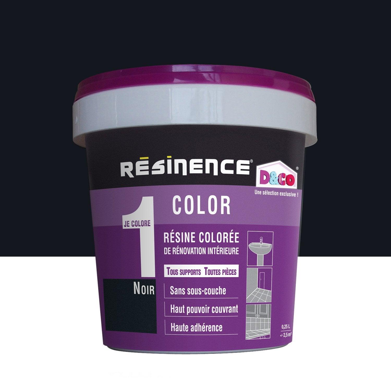Incroyable Résine Colorée Color RESINENCE, Noir, ...